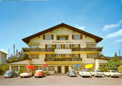 Hotel Falken Ebikon am Rotsee, 1964