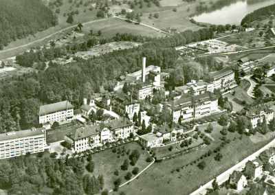 Kantonale Krankenanstalt Luzern und Rotsee-Ende, vor 1958
