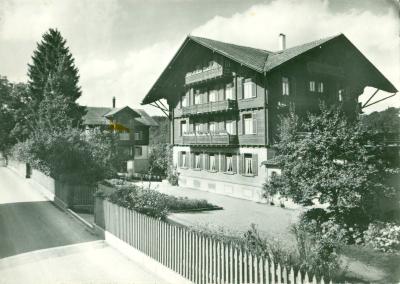 Studienheim St. Klemens Ebikon - Luzern, vor 1958